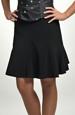 Černá sukně do tanečních