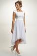 Svatební šaty s elastickým živůtkem