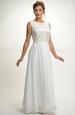 Luxusní svatební krajkové šaty