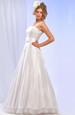 Krásné bílé svatební šaty