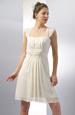 Krátké svatební šaty v římském stylu