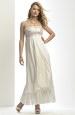 Šaty pro těhotné nevěsty zdobené krajkou