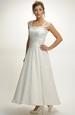 Svatební korzetové šaty s kolovou sukní