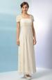 Svatební šaty zdobené perličkovým potiskem
