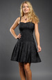 Černé společenské šaty vhodné i do tanečních