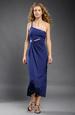 Elegantní plesové šaty s průstřihem na břiše
