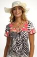 Módní letní dámský klobouk