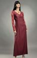 Dlouhé empírové šaty - sleva