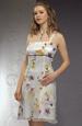 Letní společenské šaty na ramínka