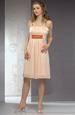 šifónové letní krátké šaty