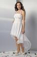Svatební šaty s řasením