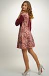 Dámské vintage šaty s rukávky