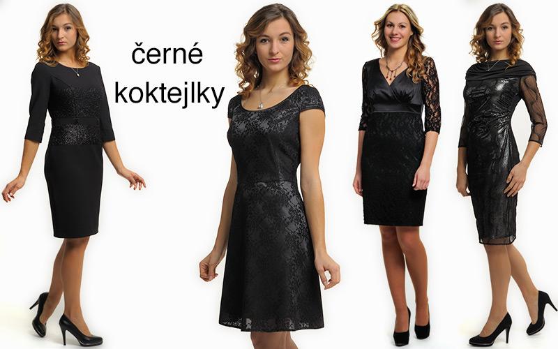41f4717c246 Krátké společenské šaty - malé černé