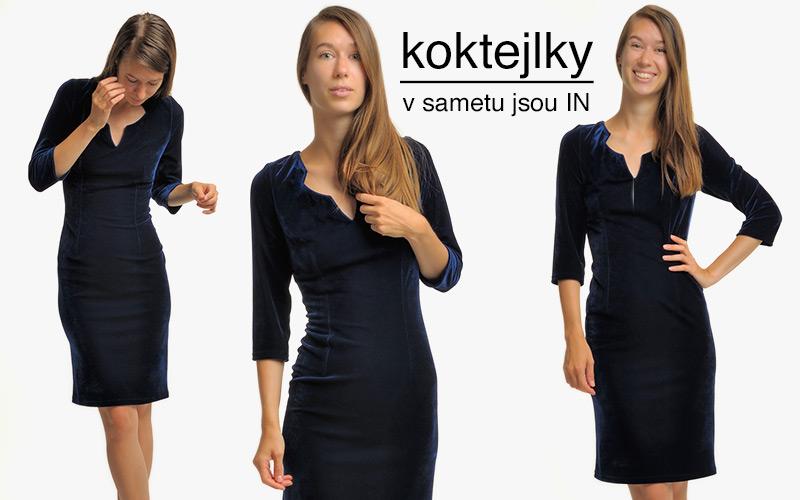 d4ace3ac379 Katalog dámských krátkých koktejlových šatů