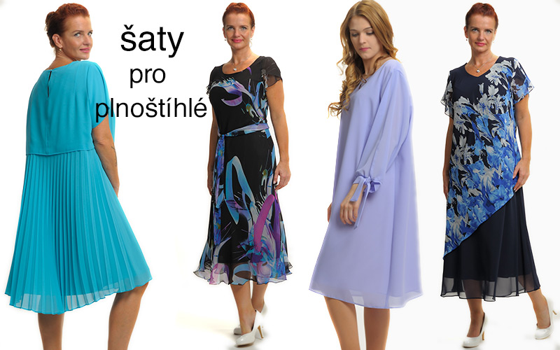 Společenské šaty a kostýmy - móda plnoštíhlé  ddda0b2cde