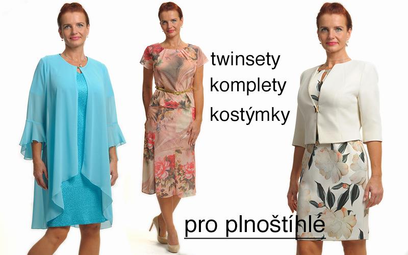 7b098265f8b Společenské šaty a kostýmy - móda plnoštíhlé
