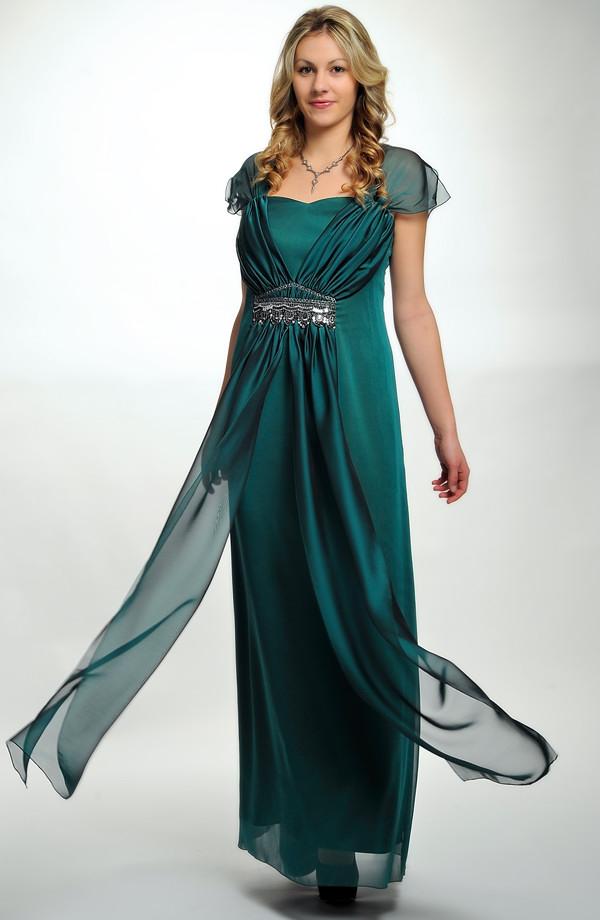 3ef8816d3d02 ... Elegantní plesové šaty pro moletky v antickém stylu