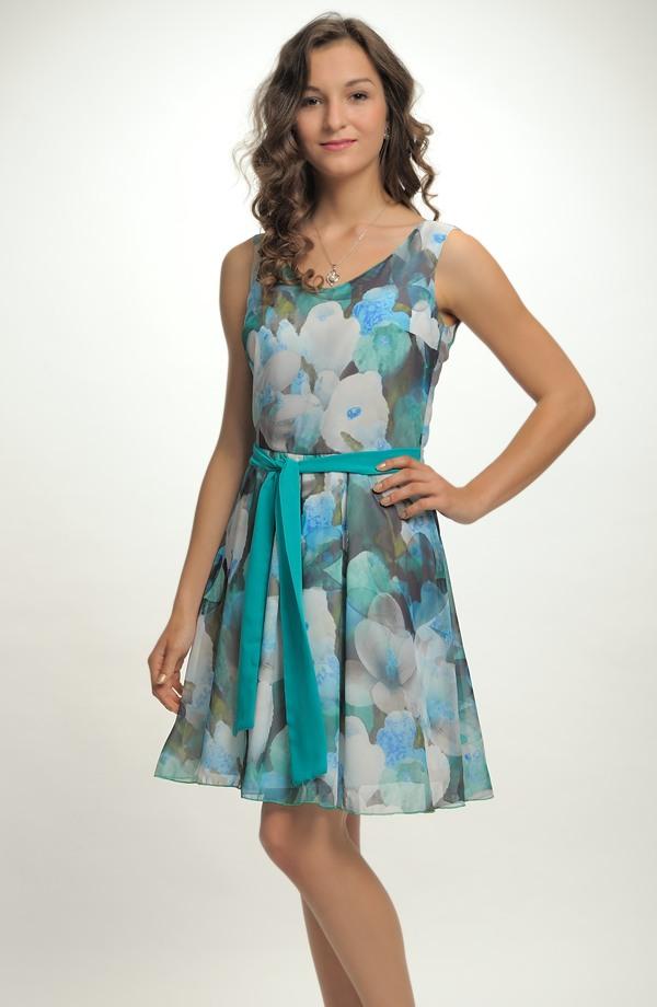 Dívčí společenské šaty ze šifonu ... 5ba063be45