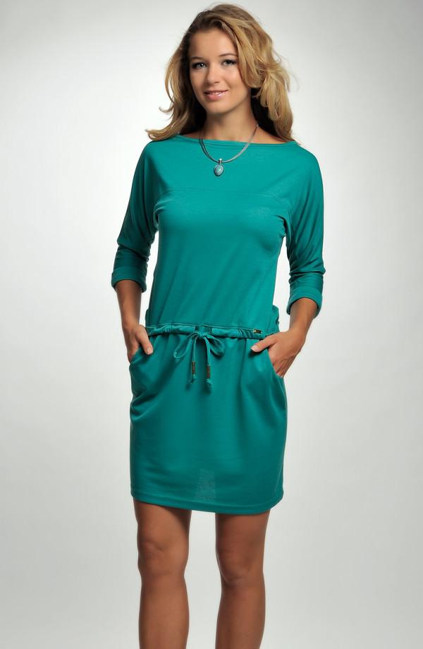 Krátké tunikové šaty s tunýlkem ... 7b1e130684