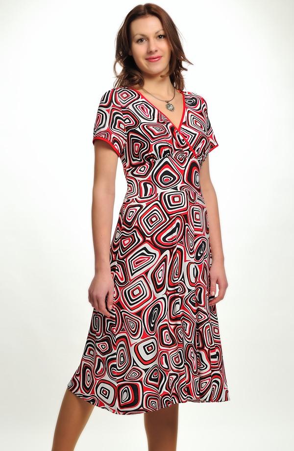 Barevné letní šaty z viskózy ... 48a954c3bc