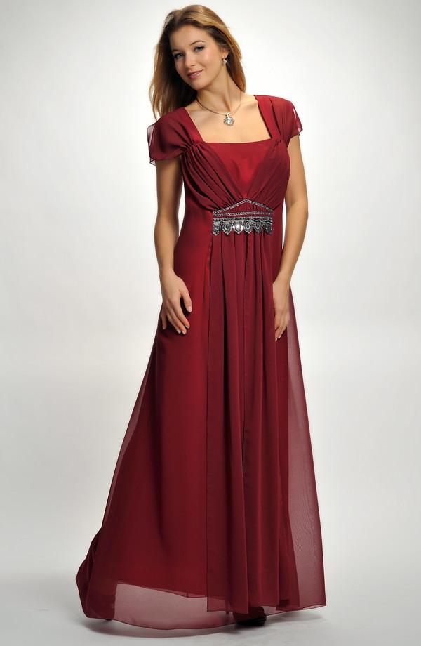 ba127c6868b1 ... Elegantní plesové šaty pro moletky v antickém stylu ...