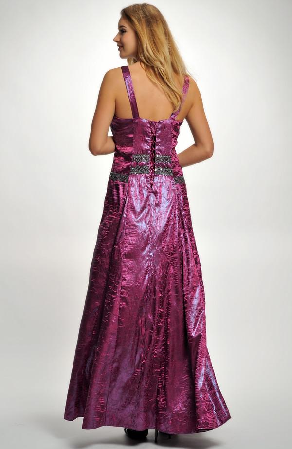 ecb92eae8931 Taftové plesové šaty XXL