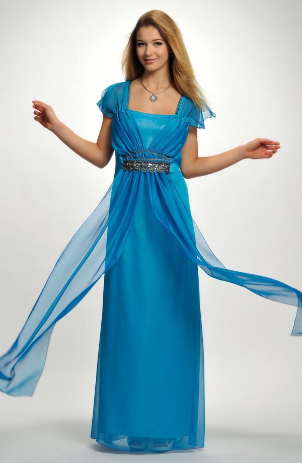 6c193c85ae4f 46 až Elegantní dlouhé společenské šaty pro plnoštíhlé jsou vhodné i pro  baculky