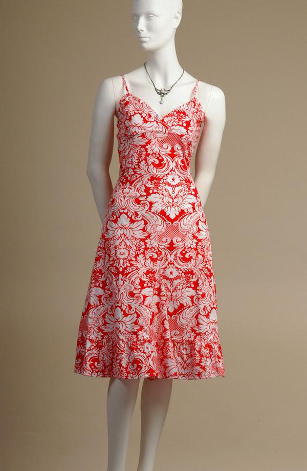 Letní bavlněné šaty na ramínka  0fc2e39218