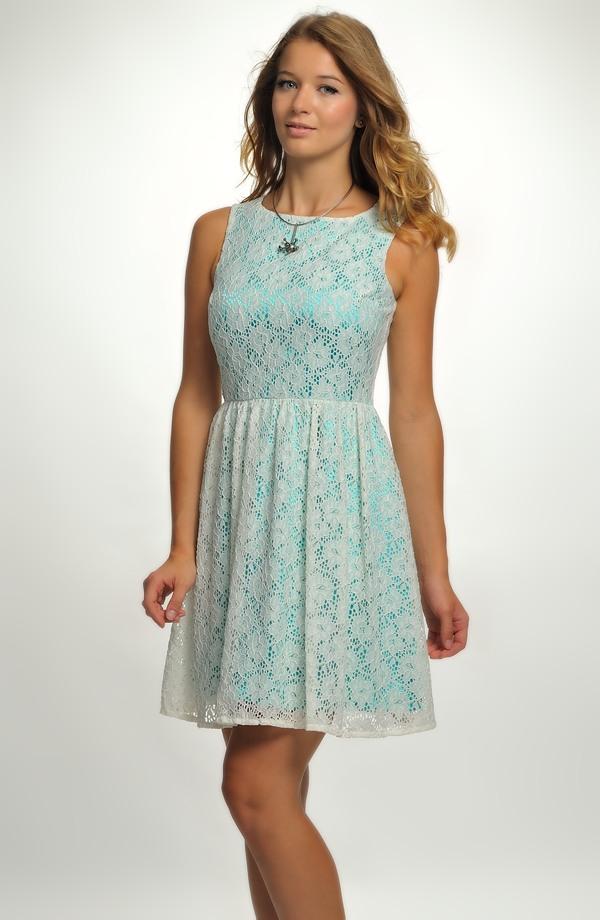 ... Krátké dívčí koktejlové šaty na ramínka hodné na párty 987bb5db8d
