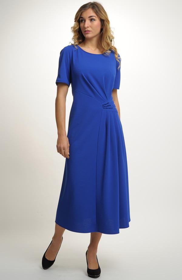 bf6e32a858c Elegantní dlouhé společenské šaty pro plnoštíhlé ...