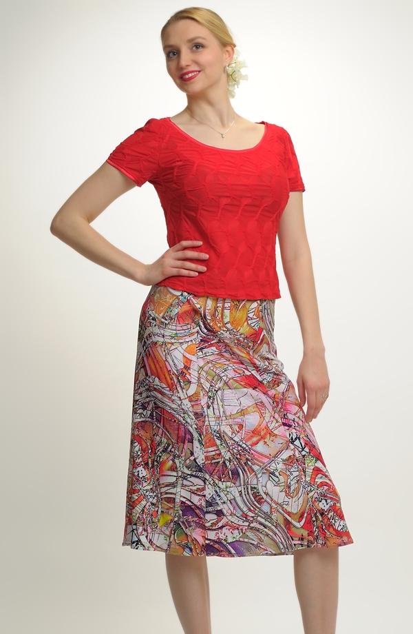 c69a81d7ab15 Dámská sukně pro plnoštíhlé Dámská sukně pro plnoštíhlé ...