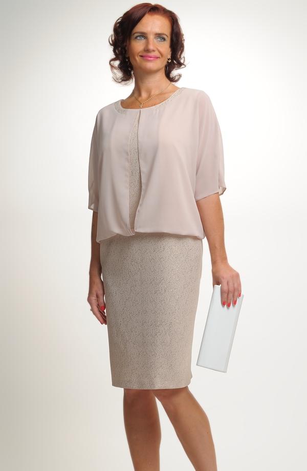 554d5483055a Dámské společenské šaty vhodné pro velké velikosti (XXXL