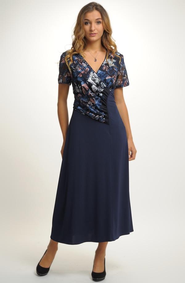 Dámské večerní šaty pro plnoštíhlé ... 657e471da0c