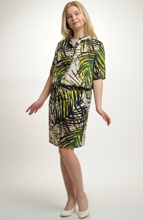 Dámské koktejlové šaty s módním vzorem ... 97490deee2