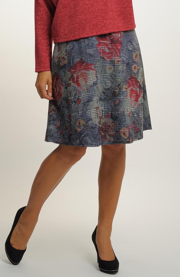 24a80fc8e898 Károvaná sukně krátká ...