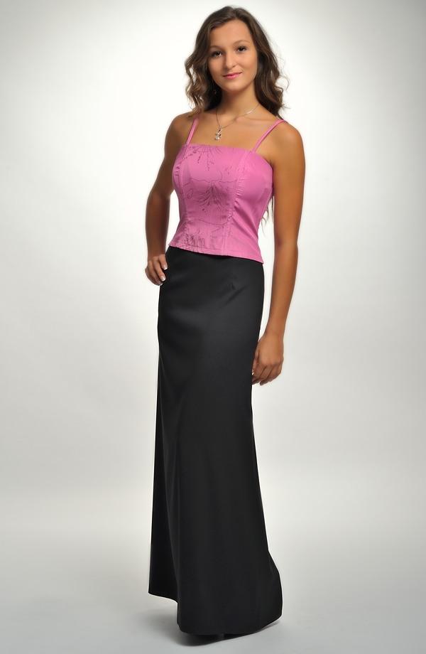 ad244ed3fc14 ... Černá dlouhá společenská sukně ...