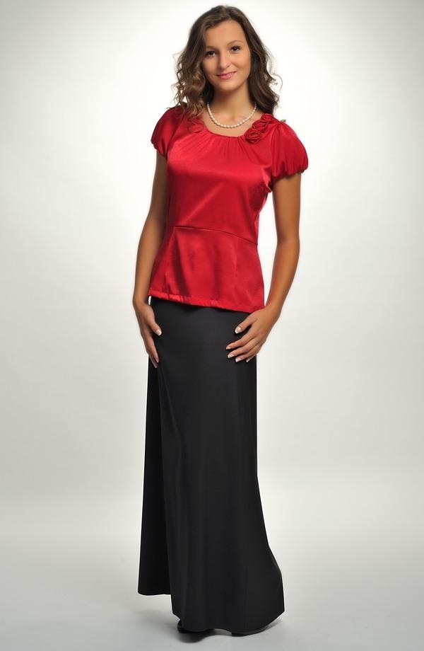 f0f57e36156c ... Černá dlouhá společenská sukně