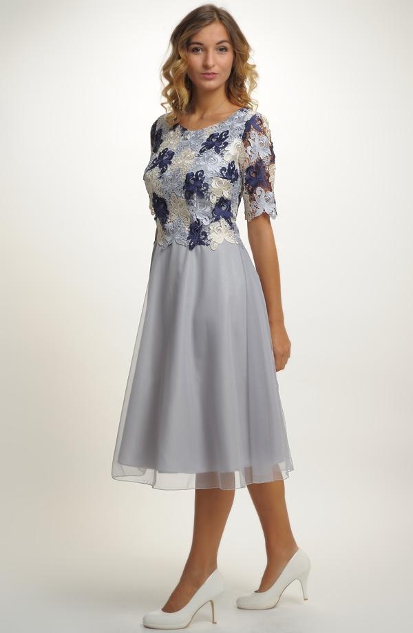 Dámské společenské šaty i pro plnoštíhlé a xxl  5e87f94ff5
