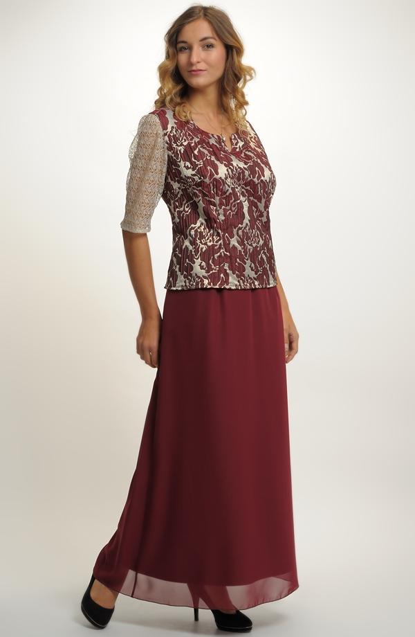 2583c11f1f2b Dámský elegantní komplet top a sukně.
