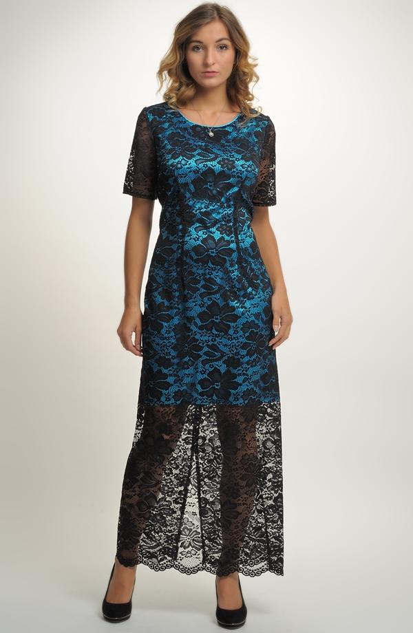 b6057afdc74 Dámské dlouhé šaty pouzdrového střihu