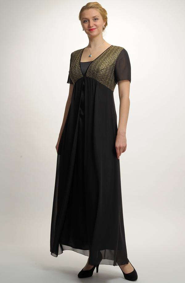 Plesové šaty i v nadměrných velikostech a5356c4e5d