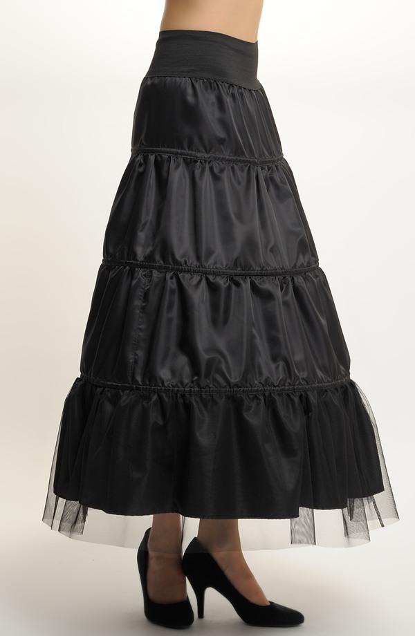 ... Luxusní plesové šaty s kolovou sukní na stužkovací ples 4393c06264
