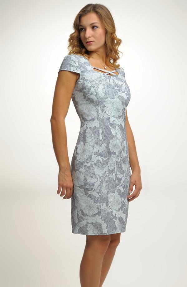 Nadčasové elegantní dámské koktejlové šaty ve velikostech 40 8a1a5bc9291