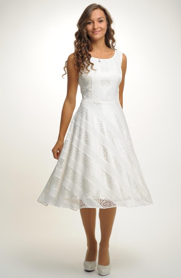 f988b98b726c Elegantní společenské šaty vhodné i jako svatební šaty ...