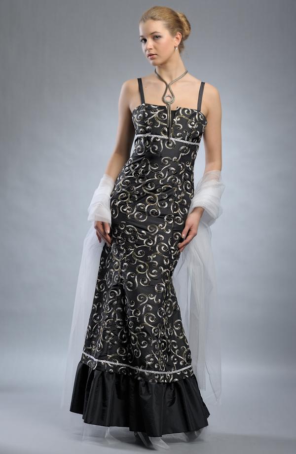 Luxusní plesové společenské šaty SLEVA  5015effc19