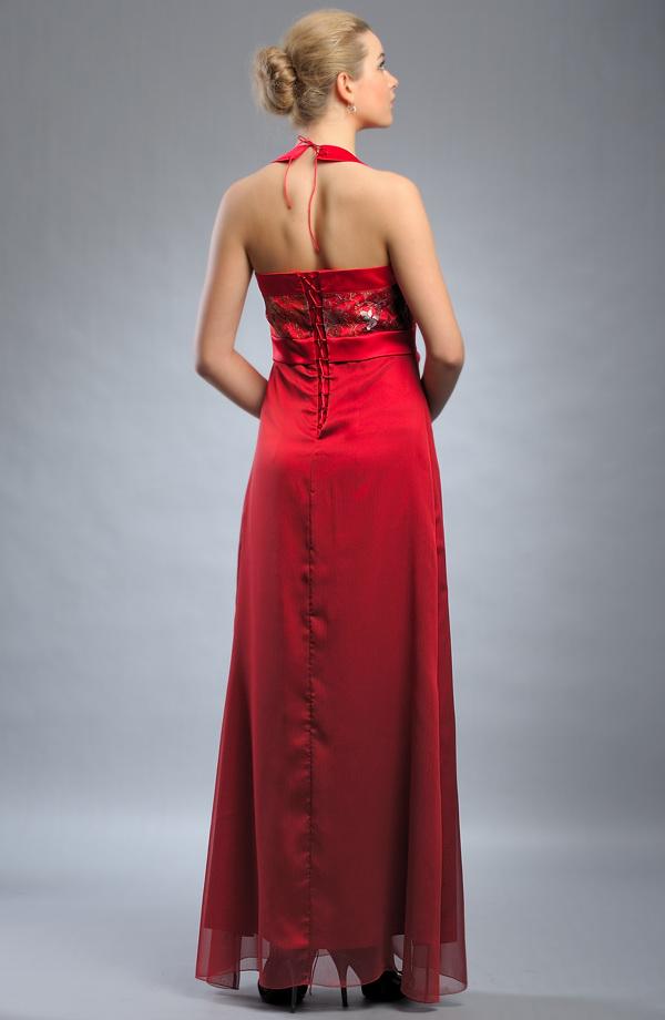 0fc8e477ee8 Empírové šaty do sedla s ramínky za krk