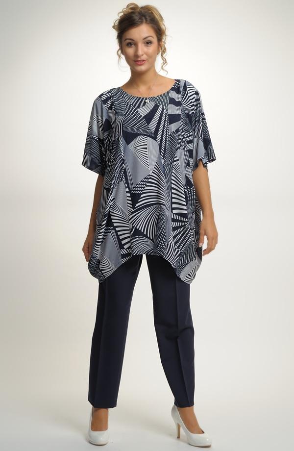 Tunika z luxusní jemné elastické pleteniny ... f97a27fa1d