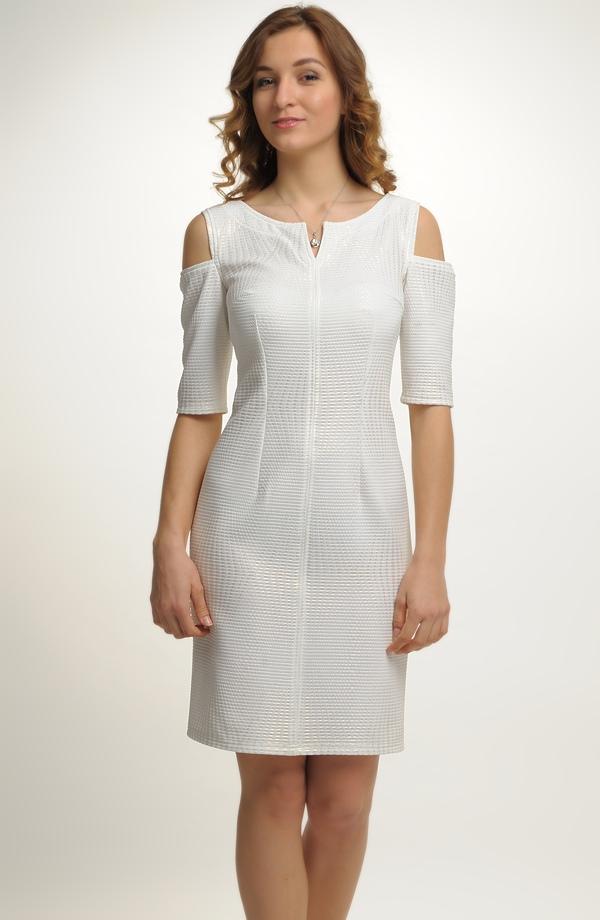 Smetanové krátké svatební šaty vhodné i jako společenské šaty ... bd8d3314a2c