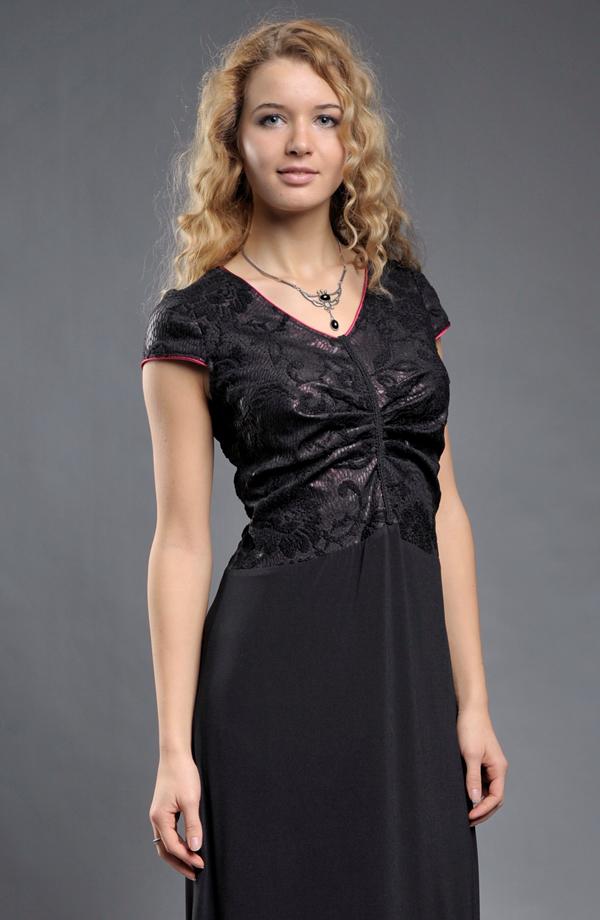 ... Dámské společenské šaty vhodné pro nadměrné velikosti (XL 9d0ab90081