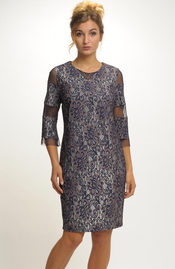 4ed2787fbf18 Krátké elegantní společenské šaty ...